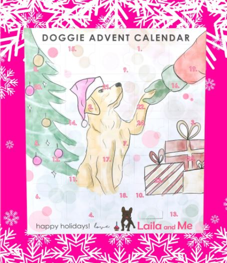 2020 LAILA AND ME DOG ADVENT CALENDAR